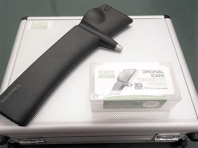 眼圧測定器